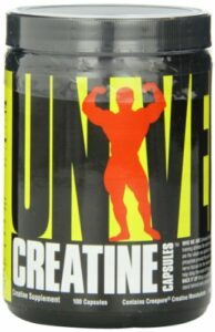 Creatine capsules – 100 gelules – Universal nutrition