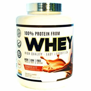 JLN Whey Concentré de lactosérum; Isolat de protéine; Supplément sportif; Saveur Chocolat 2kg