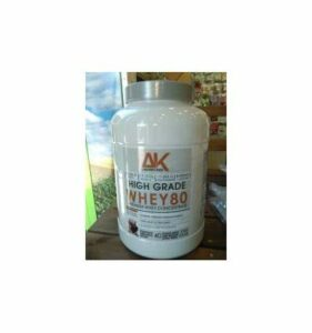 MTX nutrition AK WHEY80 [2000g.] Belgian Chocolate Whey Protein PREMIUM LACPRODAN concentrated milk, aroma, flavor and color 100% natural.