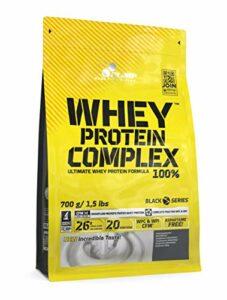 Olimp Sport Nutrition Whey Proteine Complex Chocolat Blanc Framboise – 600g