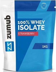 Zumub – 100 % Whey Isolate 1 kg – Flaveur : banane