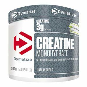 Dymatize Creatine Monohydrate Unflavoured Powder 500g – Supplément