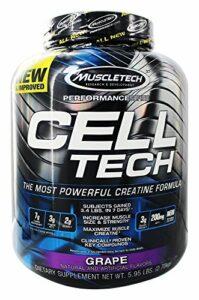 Muscletech Products – Raisin de formule de créatine de Hardgainer de série d'exécution de technologie de cellules – 6lbs.