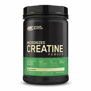 Optimum Nutrition Créatine en poudre