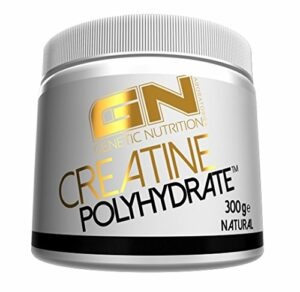 GN Laboratories Créatine Polyhydrate – Supplément de Performance Musculation Hydrochloride de Créatine – 300g (Neutre)