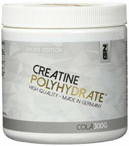 GN Laboratories Créatine Polyhydrate – Supplément Performance Musculation Hydrochloride de Créatine – 300g (Cola)