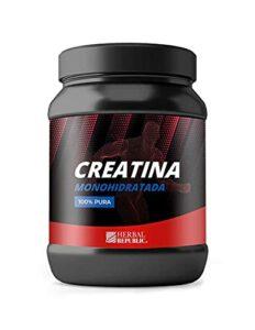 Herbal Republic | 100% pure créatine monohydrate 500 g | Accessoire de sport | Augmenter l'énergie