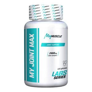 MyMUSCLE – My Joint Max – Complexe pour Articulations – Collagène Hydrolysé + Vitamine C + Glucosamine + Sulfate Chondroïtine + MSM – 120 Gélules