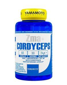 Yamamoto Nutrition Zma + Cordyceps 60 Capsules