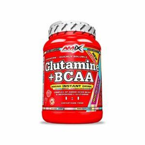 Amix Nutrition – Glutamina + BCAA – 1Kg Mango