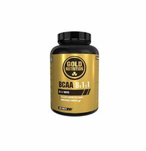 Goldnutrition BCAA 8.1.1, 200 comprimés, Améliore les Performances Physiques