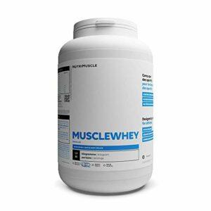 Mix Protéines (Whey & Isolat) en Poudre (1,2 kg) – Musclewhey | Protéines Natives Laitières • Prise de Muscle • Musculation & Fitness | Nutrimuscle | Arôme Naturel Chocolat