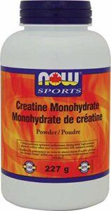 NOW Creatine Monohydrate Powder 227g