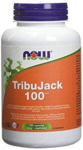 NOW TribuJack 100 w/LJ100 Longjack & ZMA 120 Veg Capsules