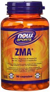 NOW ZMA 800mg with Zinc, Mg, B-6 90 Capsules