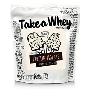 TAKE-A-WHEY Everyday Protéines Isolate Musculation Supplément Alimentaire Crème Glacée
