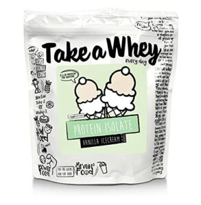 TAKE-A-WHEY Everyday Protéines Isolate Musculation Supplément Alimentaire Glace Vanille